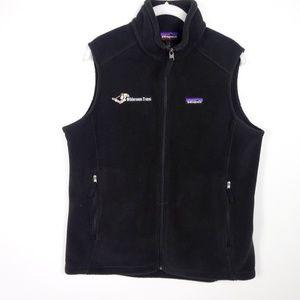 Patagonia Women's Fleece Vest Synchilla Zip Zip Po